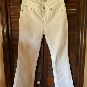 Riders white boot cut jeans